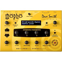 Dave Smith Instruments Mopho - Monophonic Desktop Analog Synthesizer (DSI-1201)