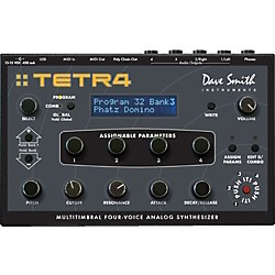 Dave Smith Instruments Tetra Multitimbral Four-Voice Analog Synthesizer (DSI-1204)