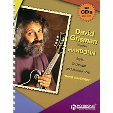 Homespun David Grisman Teaches Mandolin Guitar Series Softcover with CD Performed by David Grisman