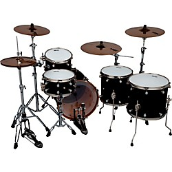 Ddrum Reflex Pocket 5-Piece Shell Pack (REFEX PKT 520 BLK)