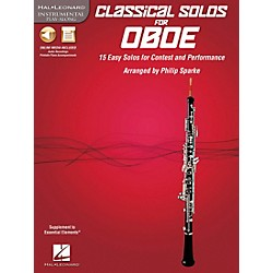 De Haske Music Classical Solos - 15 Easy Solos for Contest and Performance Book/CD (842543)