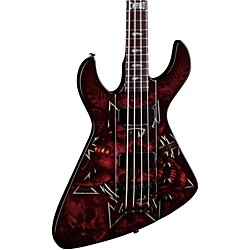 Dean Demonator 4 Bass Guitar (DEMONATOR 4 CHAOS)