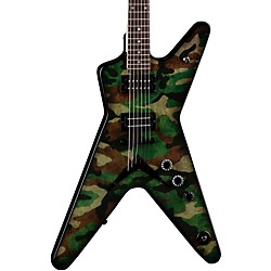 Dean Dimebag Dime Camo ML Electric Guitar (DB CAMO)