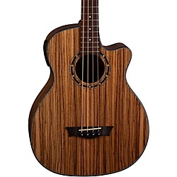 Dean EAB AE Acoustic-Electric Bass Guita (EAB ZEBRA)