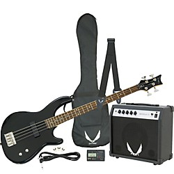 Dean Edge 09 Bass and Amp Pack (E09 CBK PK)