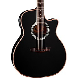 Dean Exotica Plus Solid Top Acoustic-Electric Guitar (E PLUS CBK)