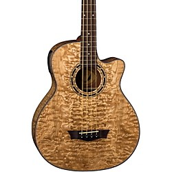 Dean Exotica Quilted Ash Acoustic-Electric Bass Guitar With Aphex (eqaba)