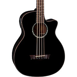 Dean Exotica Supreme Acoustic-Electric Bass with Aphex (EABS CBK)