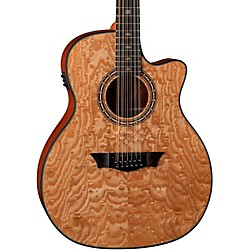 Dean Exotica Ultra Quilt Ash 12-String Acoustic-Electric Guitar (E UQA12 GN)