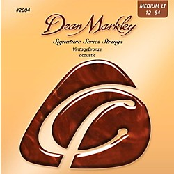 Dean Markley 2004 Vintage Bronze, Medium Light, 12-54 (2004A)