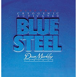 Dean Markley 2556 Blue Steel Gauge Electric Guitar Strings (2556)