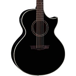 Dean Natural Series Florentine Cutaway Acoustic-Electric Guitar with Aphex (NSFC CBK)