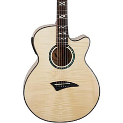 Dean Performer Flame Maple Acoustic-Electric Guitar with Aphex (pe fm gn)