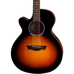 Dean Performer Plus Solid Top Left-Handed Acoustic-Electric Guitar (PE PLUS TSB L)