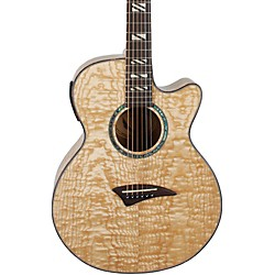 Dean Performer Quilt Ash Acoustic-Electric Guitar with Aphex (pe qa gn)