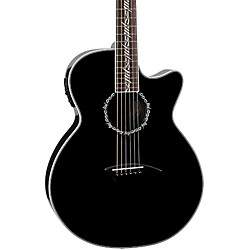 Dean Performer Tribal Cutaway Acoustic-Electric Guitar (PETRBL)