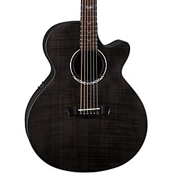 Dean Performer Ultra Flame Maple Acoustic-Electric Guitar (PE UFM TBK)