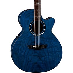 Dean Performer Ultra Quilt Acoustic-Electric Guitar (PE UQA TBL)