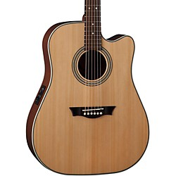 Dean St. Augustine Dreadnaught Cutaway Acoustic-Electric Guitar (SADC GN)