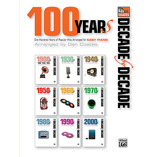 Alfred Decade by Decade 100 Years of Popular Hits for Easy Piano Book-thumbnail