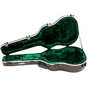 SKB Deep Roundback-Shaped Hardshell Acoustic Guitar Case