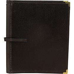 Deer River Deluxe Black Choral Folio with Hand Strap (30TBF Black)