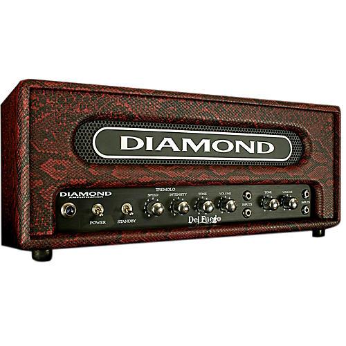 Diamond Amplification Del Fuego USA Custom Series 22W Tube Guitar Amp Head Black