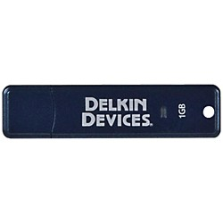 Delkin USB FLASH DRIVE (DDPOCKET2.0-1GB)
