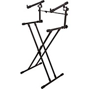 On-Stage Stands Deluxe X 2-Tier Keyboard Stand