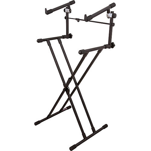 deluxe x 2-tier keyboard stand