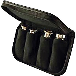 Denis Wick Trumpet / Cornet / French Horn Leather 4 Piece Mouthpiece Pouch (DWA241L)