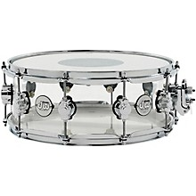 DW Design Series Acrylic Snare Drum with Chrome Hardware