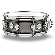 DW Design Series Black Nickel over Brass Snare Drum