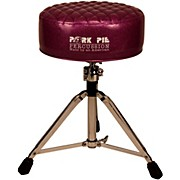 Pork Pie Deuce Diamond Tuck Round Drum Throne
