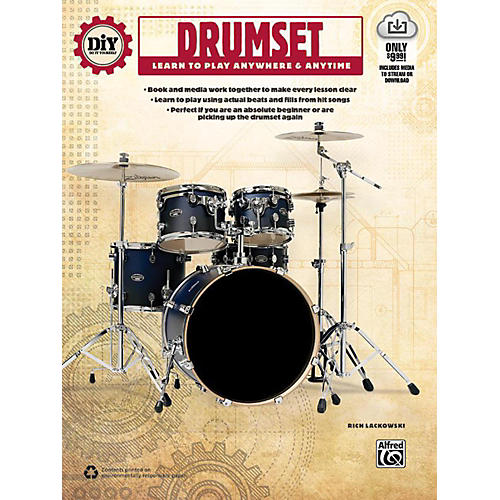 Alfred DiY (Do it Yourself) Drumset Book & Streaming Video-thumbnail