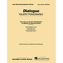 Second Floor Music Dialogue (Quintet) Jazz Band Level 4-5 Composed by Valery Ponomarev