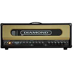 Diamond Amplification Spitfire II USA Custom Series 50W/100W Tube Guitar Amp Head (Spitfire II)