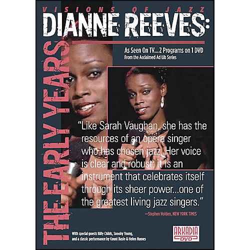Hal Leonard Dianne Reeves: The Early Years DVD-thumbnail