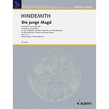 Schott Die junge Magd, Op. 23, No. 2 (6 Poems from Georg Trakl) Composed by Paul Hindemith
