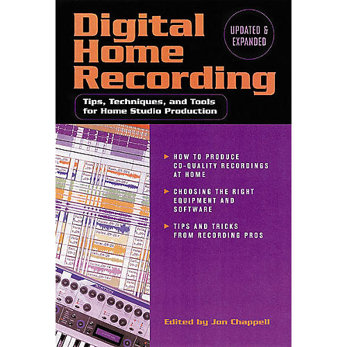 Hal Leonard Digital Home Recording, 2nd Edition Book-thumbnail