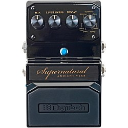Digitech Hardwire Supernatural Ambient Stereo Reverb 7 Unique Settings (USM-SUPERNATURAL)
