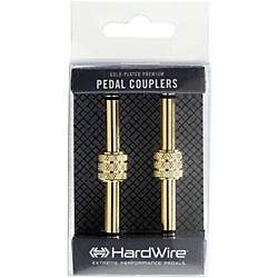 "Digitech Premium Gold-Plated 1/4"" Male Coupler (2-Pack) (USM-PC-2)"