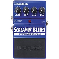 Digitech Screamin' Blues Overdrive Guitar Effects Pedal (USM-DSB)