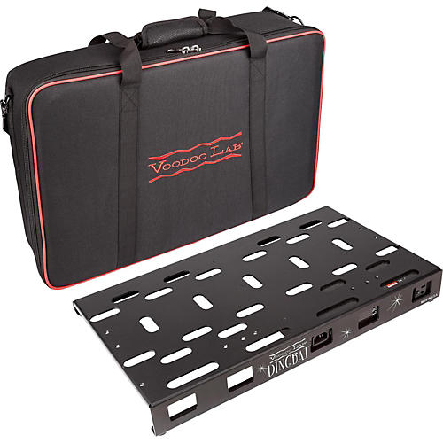 Voodoo Lab Dingbat Medium Pedalboard Power Package with Pedal Power ...