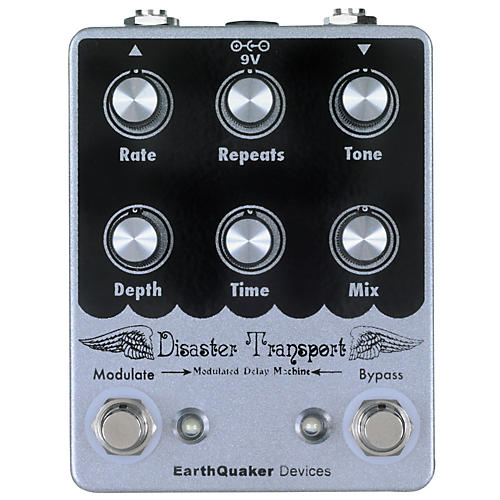 EarthQuaker Devices Disaster Transport Modulated Delay Guitar Effects Pedal-thumbnail