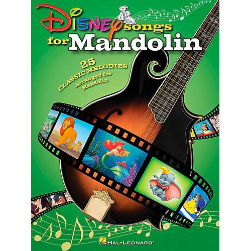 Hal Leonard Disney Songs For Mandolin-thumbnail