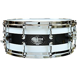 Dixon Equator Series Maple/Carbon Fiber Snare Drum (PDSAR554HB2)
