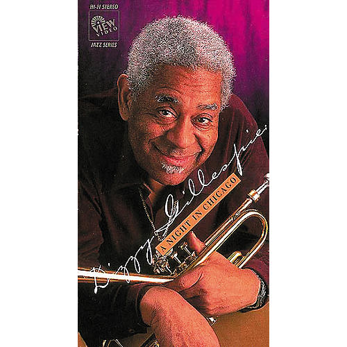 Hal Leonard Dizzy Gillespie: A Night in Chicago (DVD)