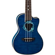 Luna Guitars Dolphin Concert Acoustic-Electric Ukulele