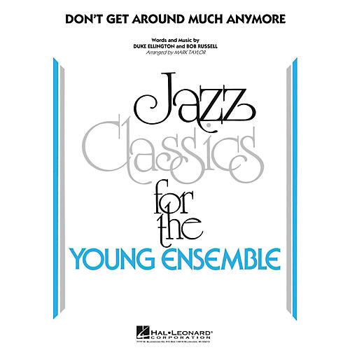 Hal Leonard Don't Get Around Much Anymore - Young Jazz Classics Level 3-thumbnail
